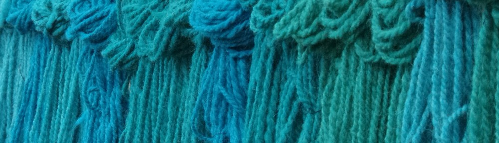 Blue skeins