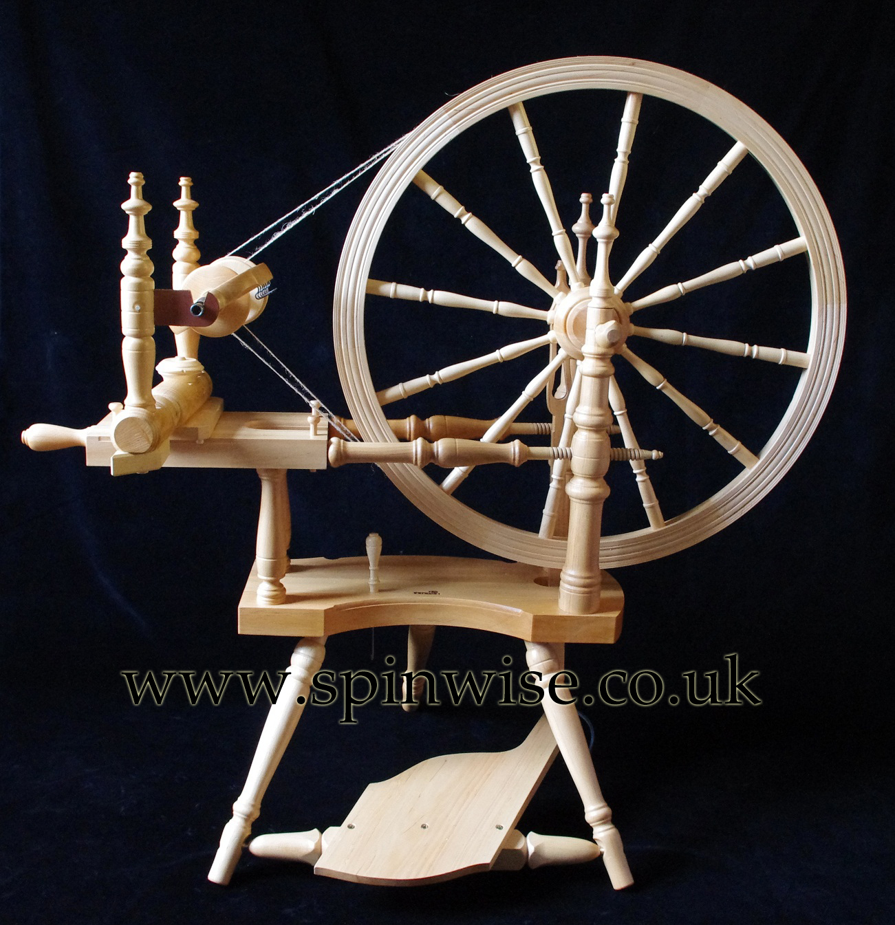 Kromski Polonaise double drive spinning wheel