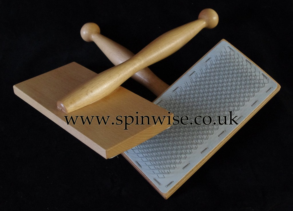 Spinwise hand carders