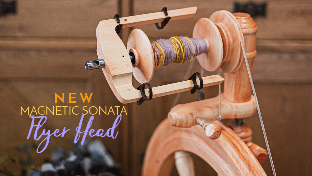Magnetic flyer head for the Sonata